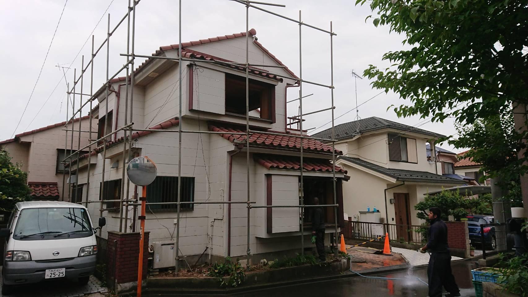 富士見市で山室木造2階建て解体工事を行わせていただきました!