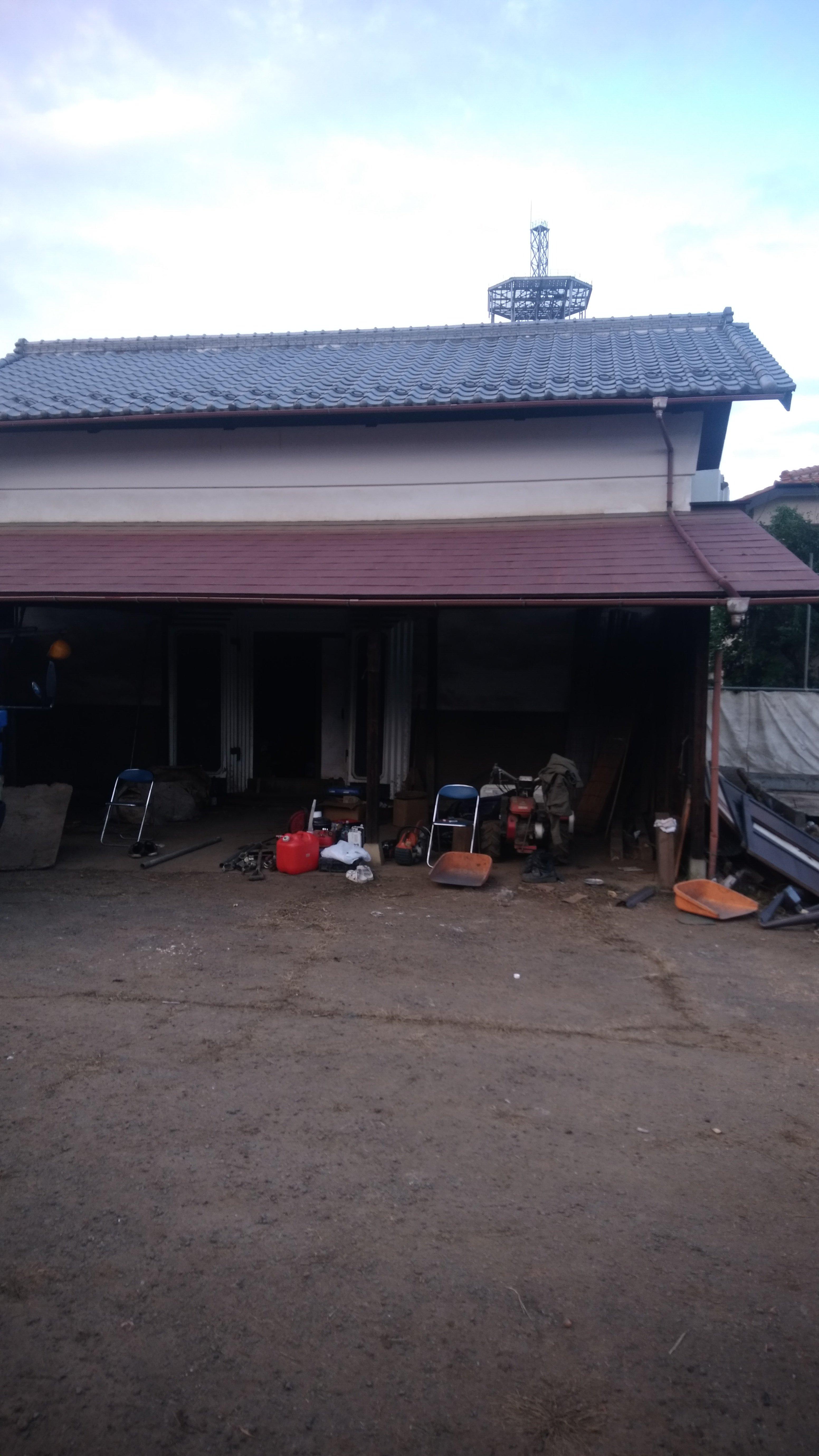 狭山市南入曽で蔵の解体工事を行いました。