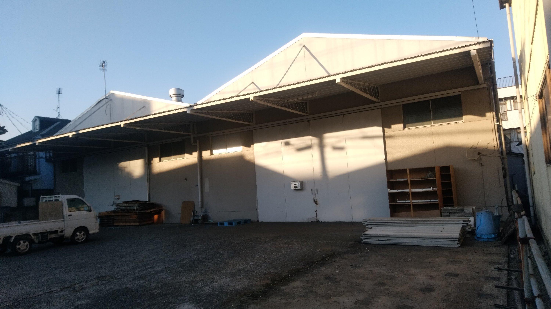 朝霞市本町で鉄骨倉庫の解体工事を行わせていただきました。